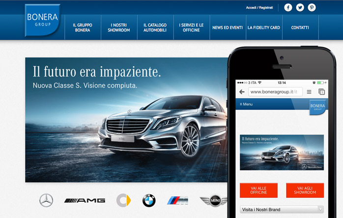 Responsive Automotive eCommerce