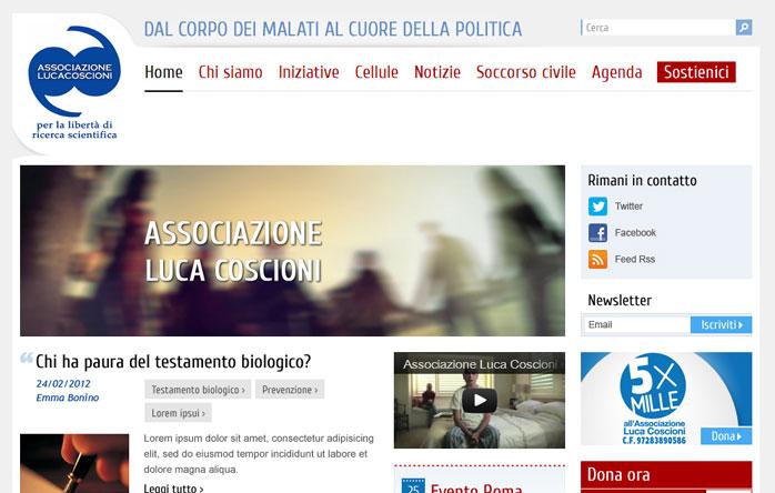 Portale Associazione Luca Coscioni