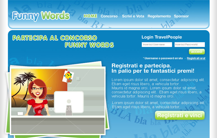 Funny Words: concorso on-line