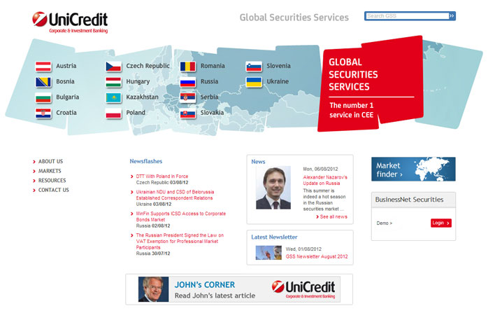 Global Securities Services