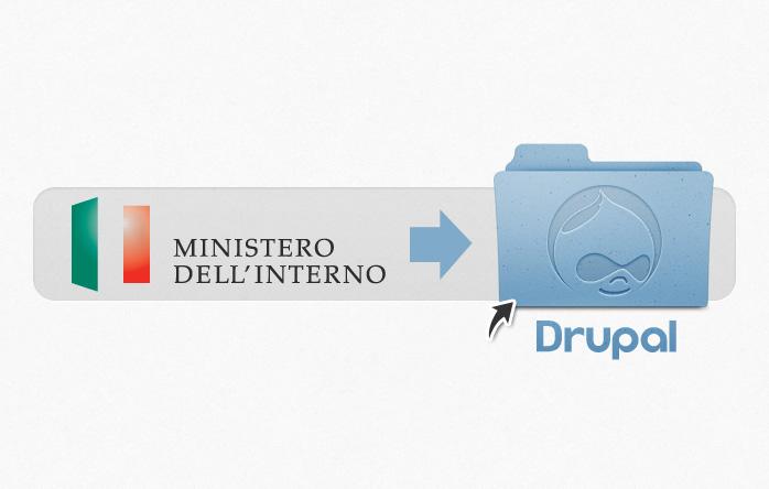 Ministero dell'Interno - Formazione Drupal