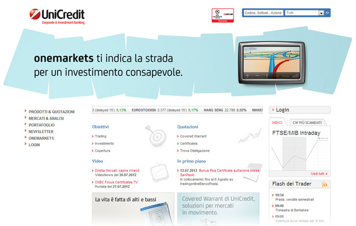 UniCredit Investimenti rel 1.0