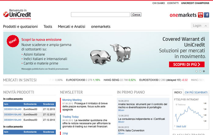 UniCredit Investimenti rel 2.0