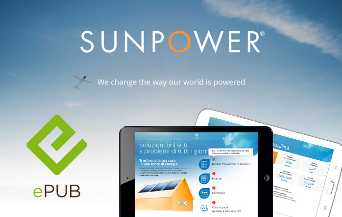SunPower eBrochure in ePub format