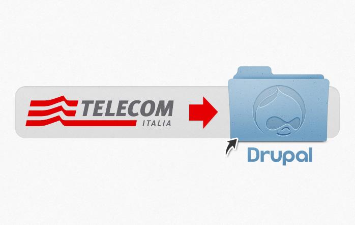 Telecom Italia formazione Drupal