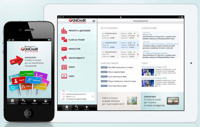 UniCredit onemarkets Italia: iPhone and iPad App