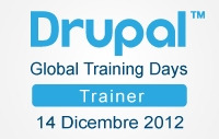 Imparare Drupal: Global Training Days 14 Dicembre 2012