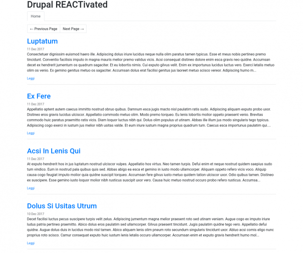 Drupal REACTivated (PARTE 2)