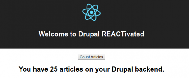 Drupal REACTivated